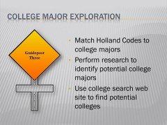 new college major exploration