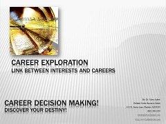 new career exploration