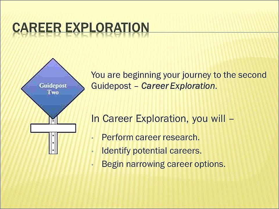 Build My Career Test