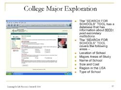 college exploration