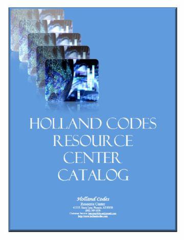 Hollandcodes.com Catalog