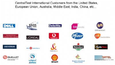 Centraltest International Customers